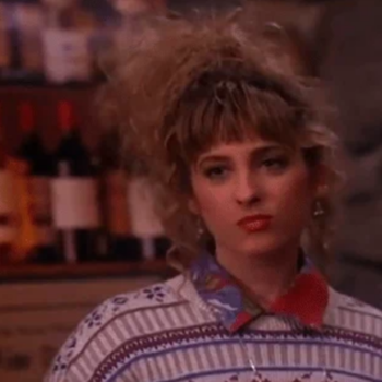 """The actress who plays Lucy on """"Twin Peaks"""" says you should NEVER use this word to describe her character"""
