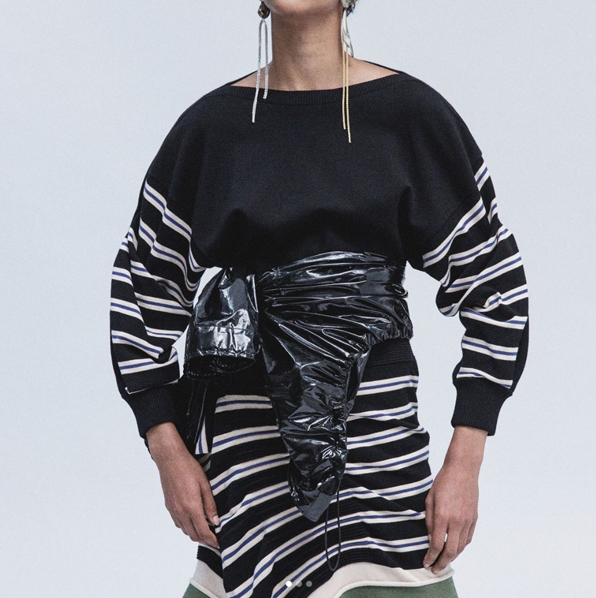 Fashion designer Phillip Lim used recycled plastic in his latest collection, and it totally works