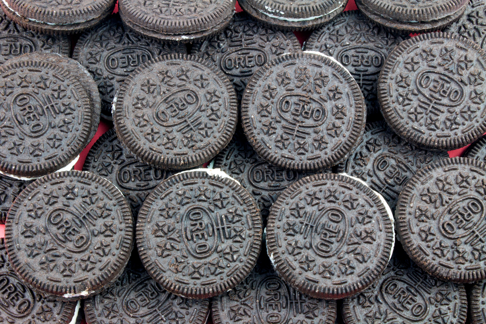 There are now jelly donut Oreos because there is still goodness in the world