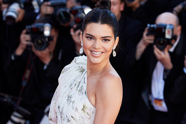 Kendall Jenner's floral mini dress looks like she's ready for a retro picnic