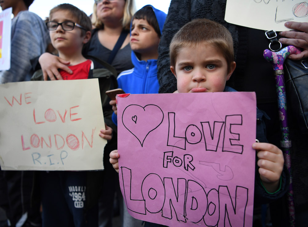 Acts of kindness were everywhere following the London attack, and we stand with them
