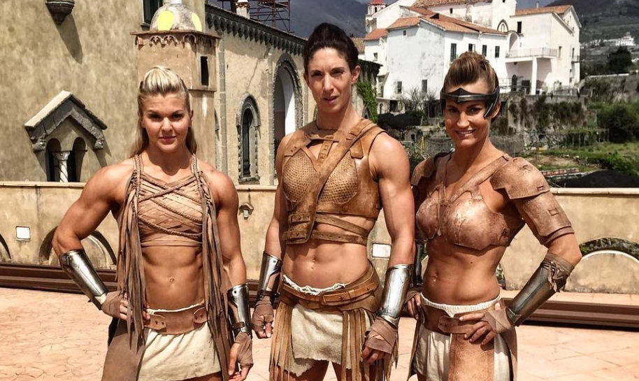 """Stop what you're doing and look at these behind-the-scenes pictures of the Amazon warriors in """"Wonder Woman"""""""