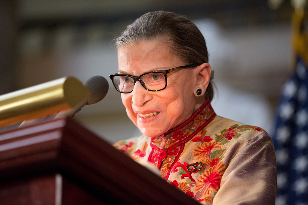 Ruth Bader Ginsburg's workout book is here, and it's just as hardcore as you think it is