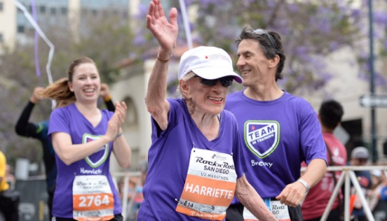 This 94-year-old just became the oldest woman to ever finish a half-marathon