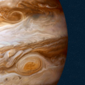 This gorgeous fly-by video of Jupiter will hit you right in the cosmic feels