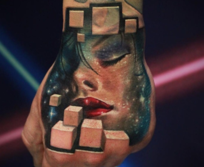 3D tattoos are officially a thing, and we can't look away