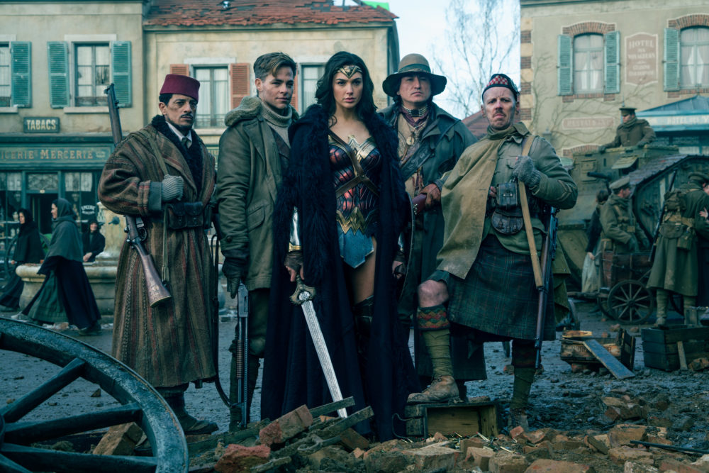 "Answer honestly: Did you know that [spoiler] was the BAD GUY in ""Wonder Woman""??"