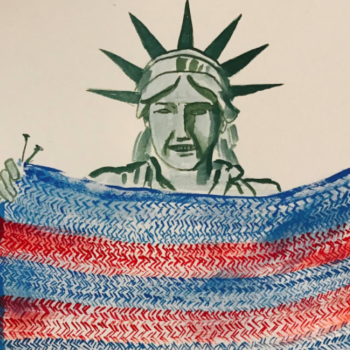 A Pussyhat Project cofounder started their next phase of craftivism for refugee families
