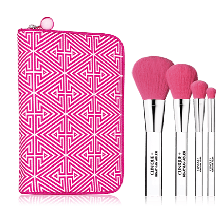 Clinique and Jonathan Adler Brush Set
