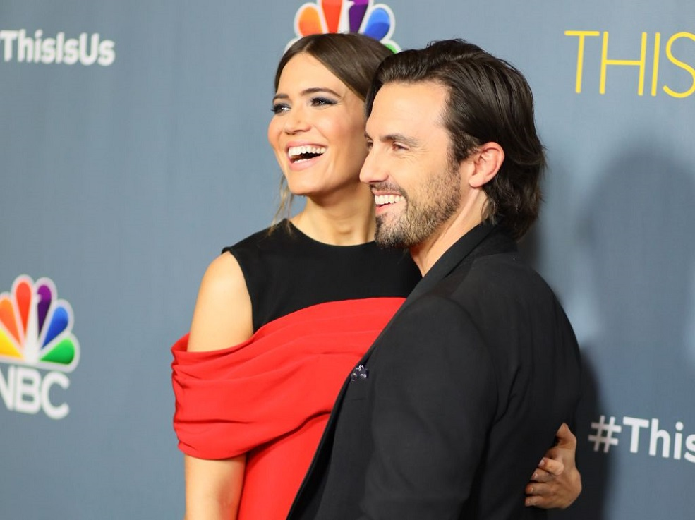 "Mandy Moore responded to rumors that Milo Ventimiglia wasn't the first choice for Jack on ""This Is Us"""