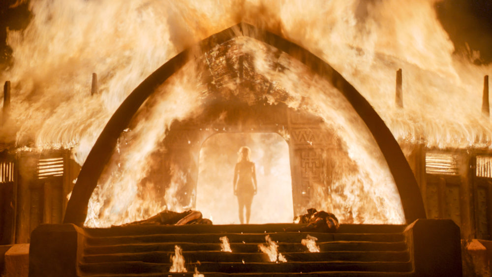 """Game of Thrones"" just set the most insane record...for setting people on fire"
