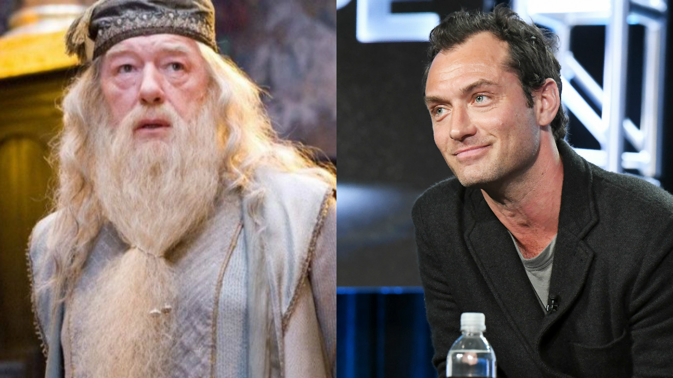"""Fantastic Beasts"" is casting teenage Dumbledore, wants to prove he was a babe at every age"