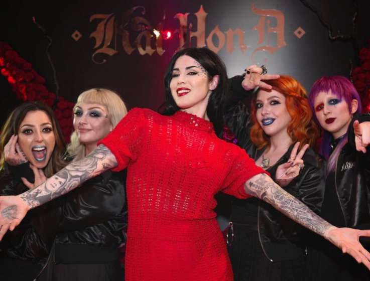 Kat Von D Beauty's Artistry Collective tells us about the fictional characters that inspire their badass makeup