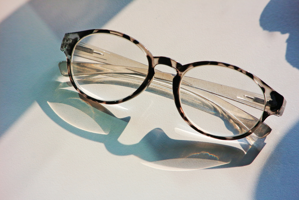 If you lost your glasses and can't see, you can use your phone to help you search for them