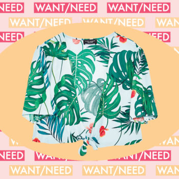 WANT/NEED: A tropical crop top for when the heat wave hits, and more stuff you want to buy