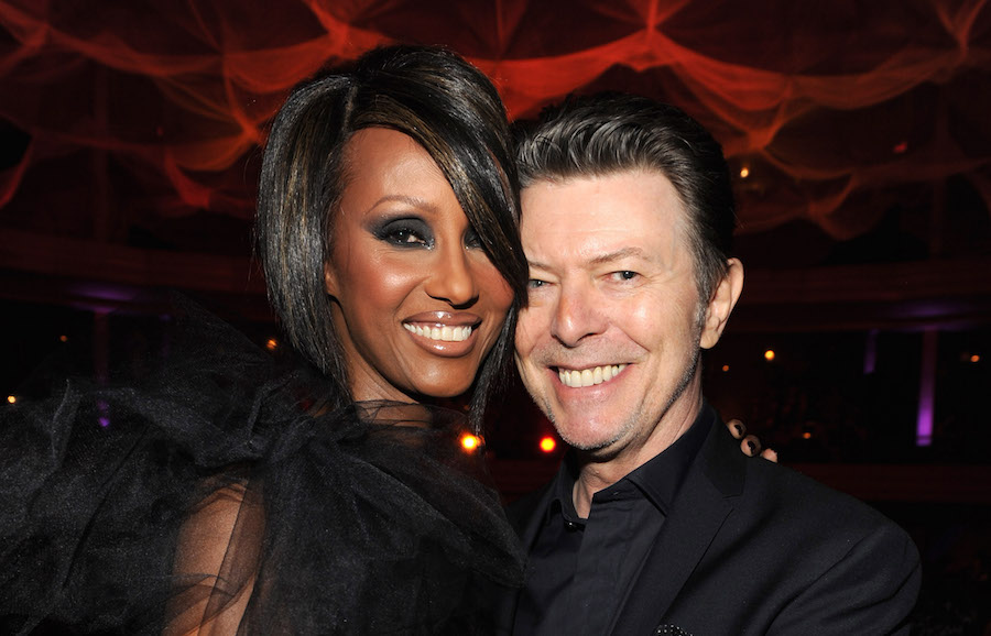 David Bowie was just honored by wife Iman on what would have been their 25th anniversary