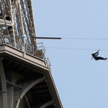 You can now zipline off the Eiffel Tower, because anything is possible in 2017