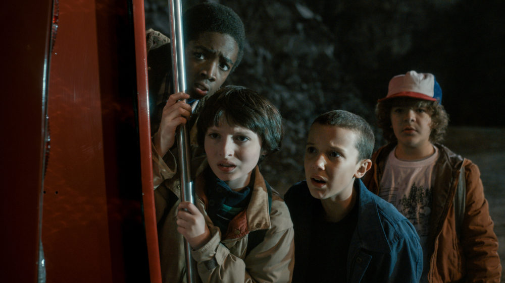 "The Duffer brothers believe they didn't screw up *as* much on Season 2 of ""Stranger Things"""