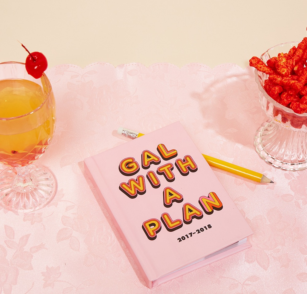 Valfré's cheeky new planner will keep us organized in style