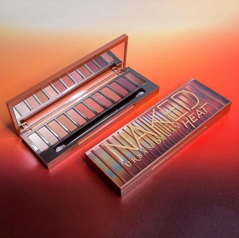 "Here's the scoop on Urban Decay's new Naked Heat palette, and it's ""en fuego"""