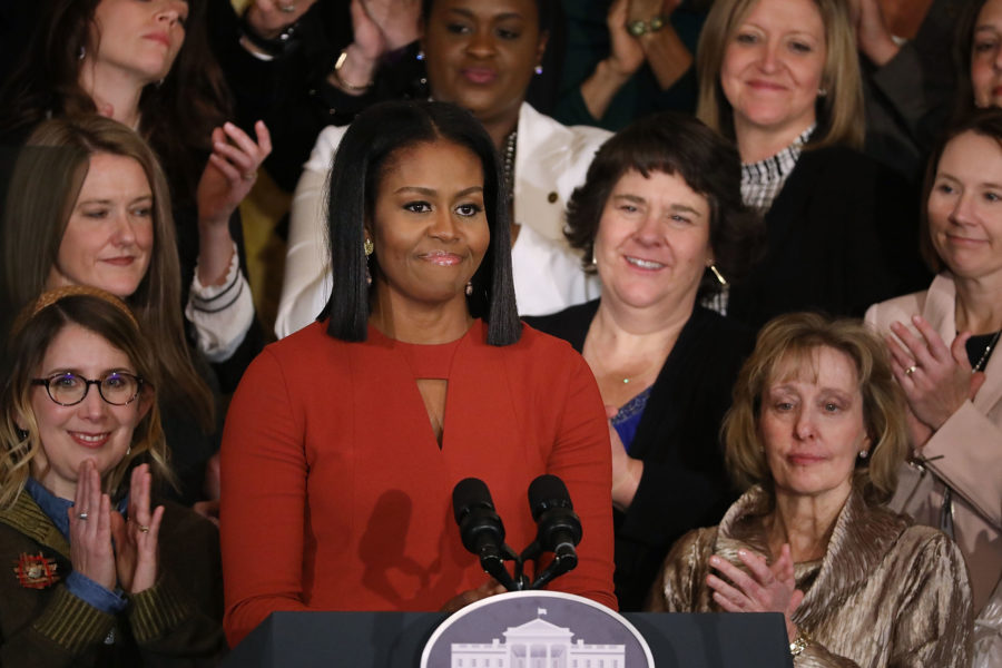 Michelle Obama got super real about sexist double standards when it comes to what she wears