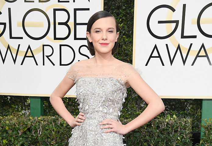 Millie Bobby Brown just wore those new see-through jeans and actually looked amazing