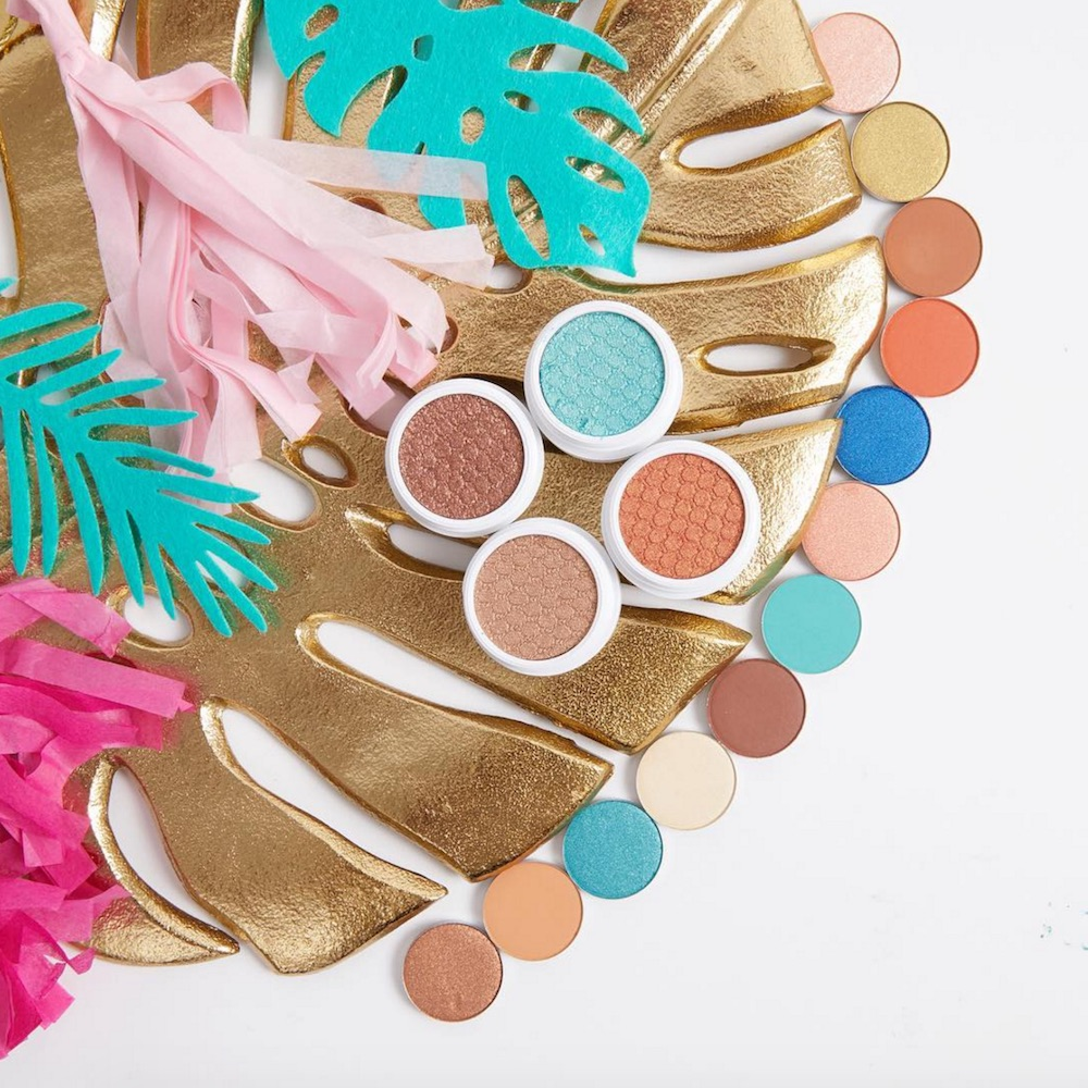 Oh, ship! ColourPop just dropped 16 beached-themed shadows