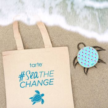 If you buy from Tarte's Rainforest of the Sea collection, you can help save the turtles