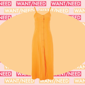 WANT/NEED: An orange sundress that'll make you crave a Creamsicle, and more stuff you want to buy