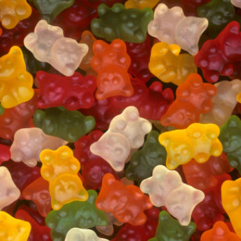 Bourbon gummy bears are a thing, and we're into it