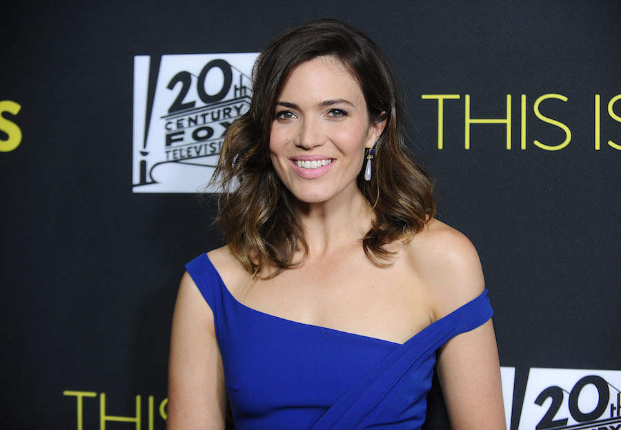 Here's where you can buy cheaper versions of Mandy Moore's royal-blue dress