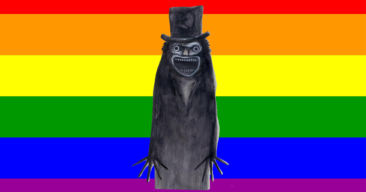 Why are people on the internet claiming the Babadook is an LGBTQ icon?