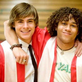 """The little kid who played young Troy Bolton in """"High School Musical 3"""" is all grown up, and he just went to prom"""