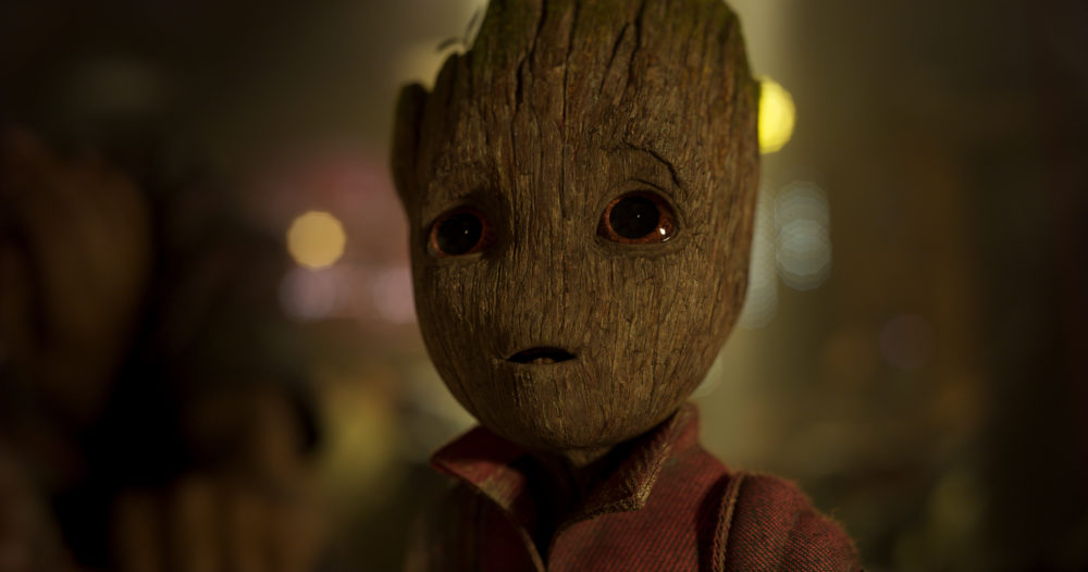 James Gunn was the reference for dancing Baby Groot, and our hearts just burst