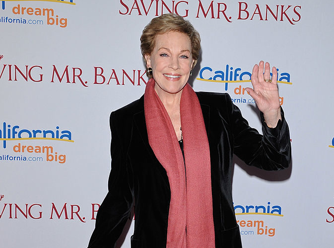 "There's a very specific reason Julie Andrews is not in the new ""Mary Poppins,"" and it's so precious"