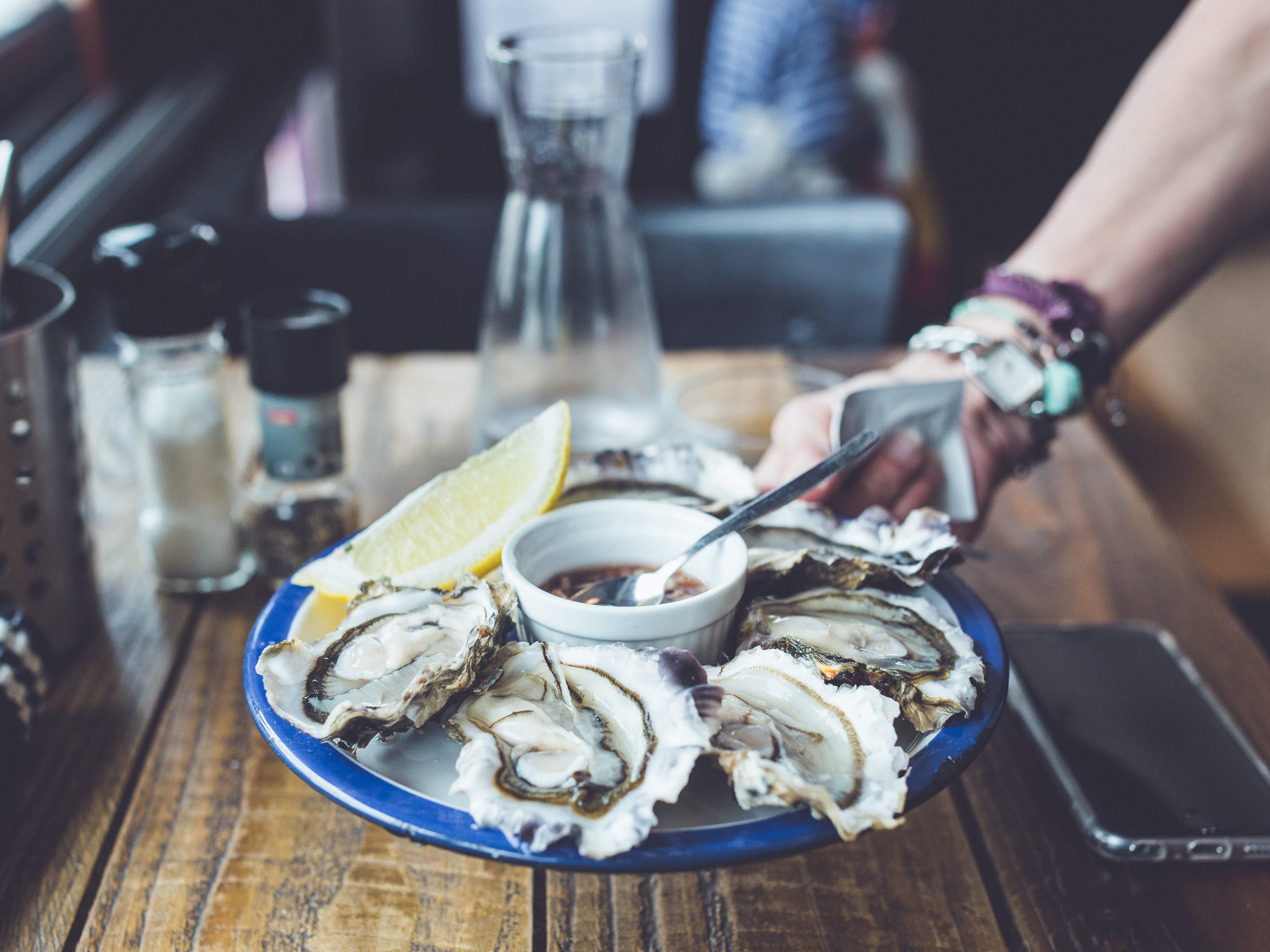 Turns out, it's safe to eat oysters year-round, and you can guess how we're celebrating