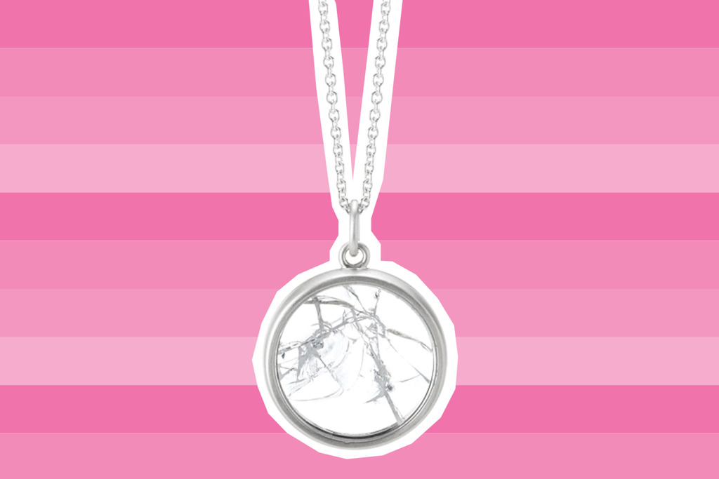 Shattered glass ceiling necklaces should be on every feminist gift guide