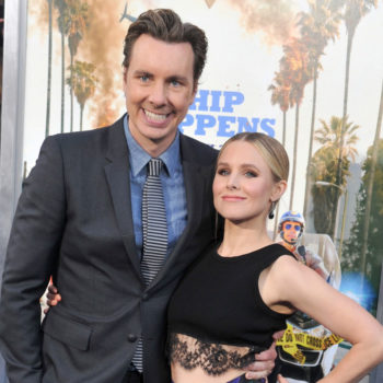 Kristen Bell just sent Dax Shepard a pretty weird text, and we're low-key freaking out