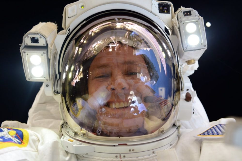 Astronaut's floating coffee spheres are the coolest way to drink coffee