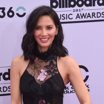 Olivia Munn is having so much fun hanging out on a Navy ship