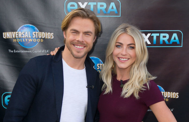 Here's who should sing at Julianne Hough's wedding, according to Derek Hough