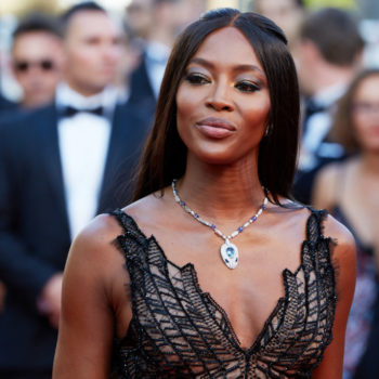 Naomi Campbell glittered from head to toe on the red carpet, and we're dazzled