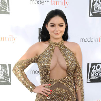 Ariel Winter channeled Posh Spice's style at the Dodgers' Blue Diamond Gala