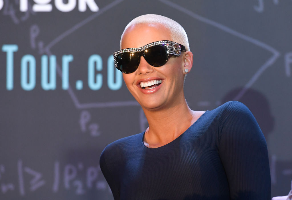 Piers Morgan apparently has a problem with Amber Rose's NSFW photo