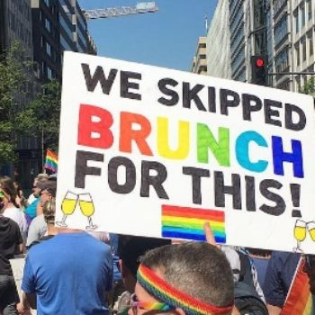 There were so many amazing signs at this weekend's Equality and Resist Marches