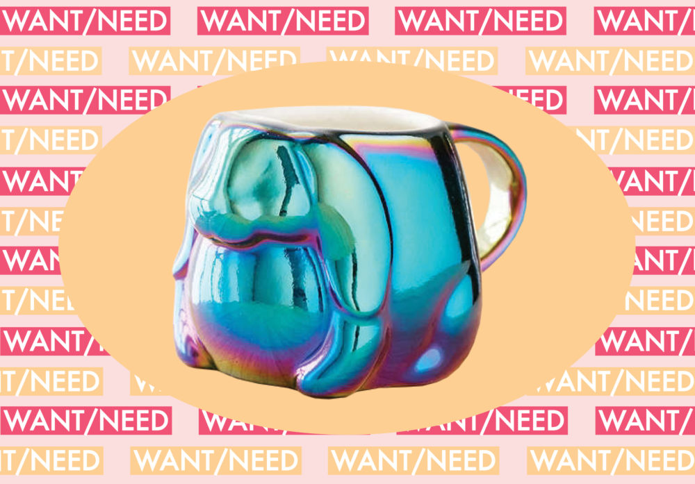WANT/NEED: Only drink your coffee from this trippy bunny mug, and other stuff you'll actually want