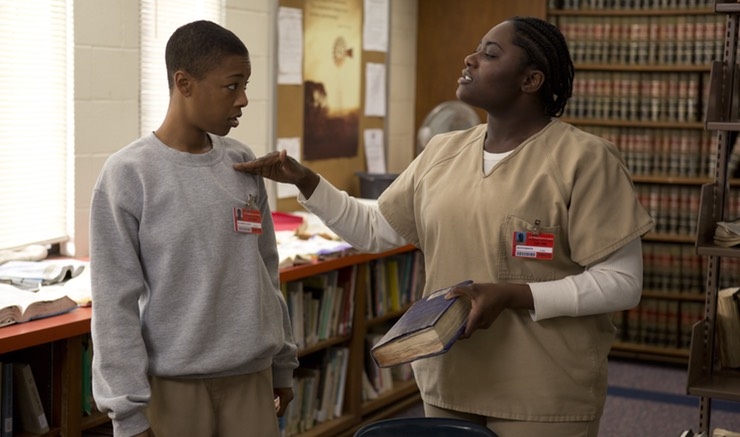 Samira Wiley's wife wrote *both* Poussey's death scene and her Season 5 flashback