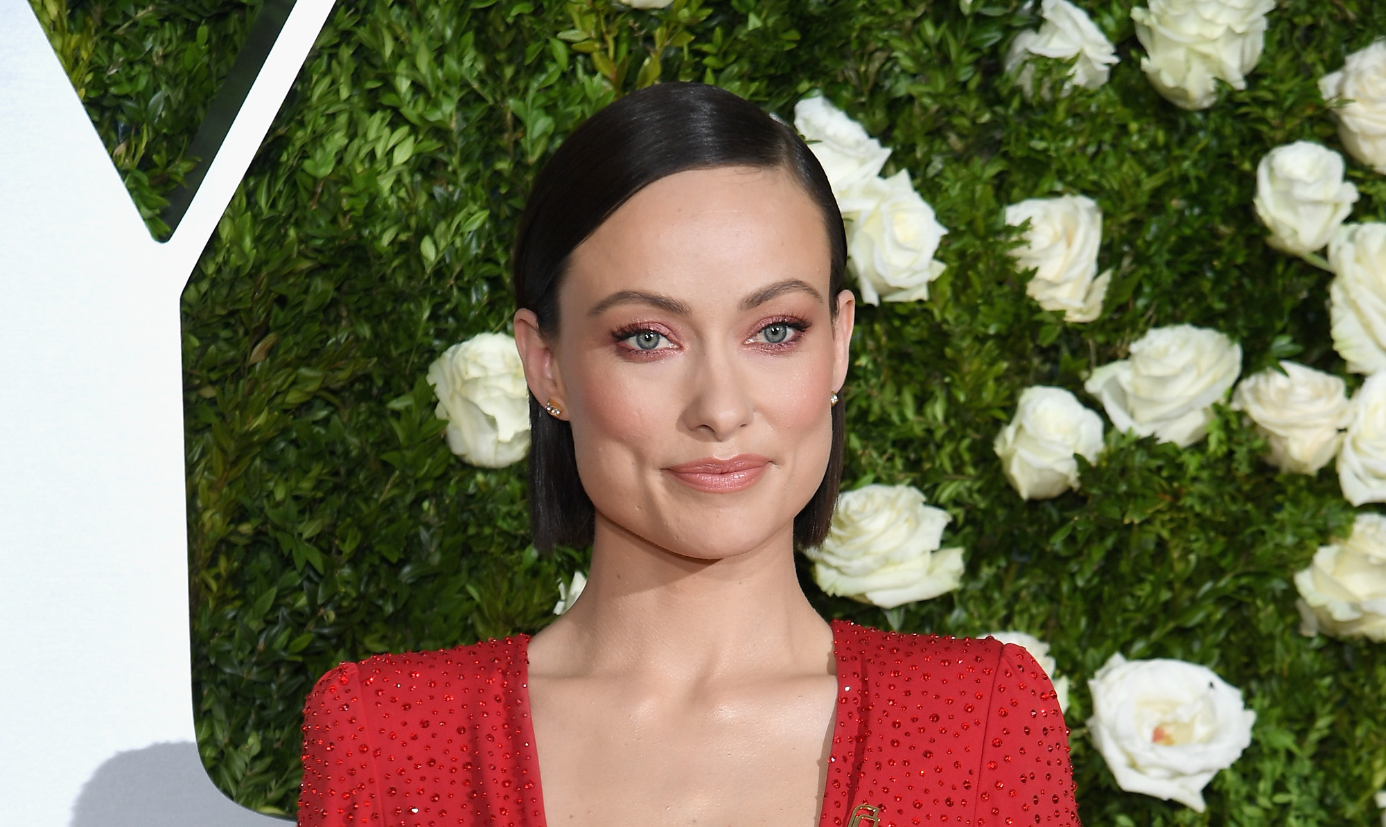 To see Olivia Wilde's homage to Planned Parenthood, you'll need to do a double take