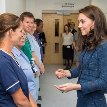 Kate Middleton visited and had the kindest words for the hospital staff who responded to the London Bridge attack
