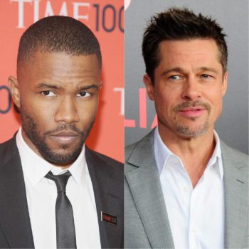 This is the cute way Frank Ocean responded to the news that Brad Pitt is a fan
